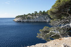 Cove of Cassis Royalty Free Stock Image