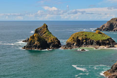 Cove in cornwall Stock Image