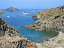Cove in Costa Brava Royalty Free Stock Photography