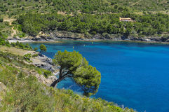 Cove in the Costa Brava, Catalonia, Spain Stock Photo