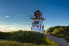 Cove Head Lighthouse Royalty Free Stock Photography
