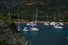 Free Cove In Golfe Girolata. Stock Image - 127920991