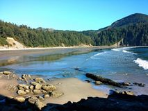 Cove. Large cove on the Oregon coast Royalty Free Stock Photography