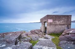 WW2 coastal defence Royalty Free Stock Photos