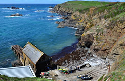 Cove in Lizard Point, UK Royalty Free Stock Photography