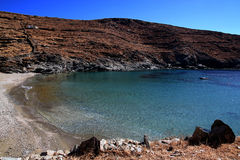 Cove. A natural cove in Cyclades , Greece Stock Photography