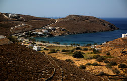 Cove. Natural cove in Cyclades, Greece Royalty Free Stock Image