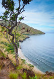 Cove in the Philippines. Nagsasa Cove in Zambales, Philippines Royalty Free Stock Photo