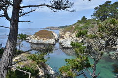 Cove at Point Lobos Royalty Free Stock Photography