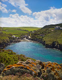 Cove at Port Quin, Cornwall, UK. Cove at Port Quin, Cornwall, United Kingdom Stock Photography