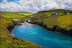 Cove at Port Quin, Cornwall, UK Royalty Free Stock Image