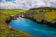 Cove at Port Quin, Cornwall, UK Royalty Free Stock Image
