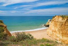 Cove at Praia da Rocha Royalty Free Stock Images