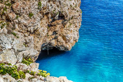 Cove in the rocky beach on Adriatic sea Stock Image