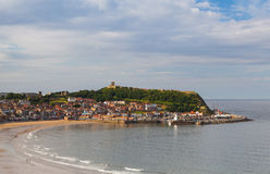 Cove in Scarborough in Great Britain Royalty Free Stock Images