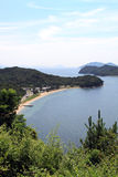 Cove, Seto Inland Sea, Japan Stock Image