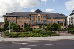 Covea försäkringhögkvarter som läser Royaltyfria Foton