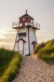Covehead-Hafen-Leuchtturm, PEI Lizenzfreie Stockfotografie