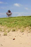 Covehead Harbour Lighthouse in Prince Edward Island Royalty Free Stock Photos