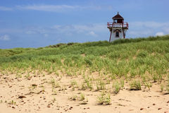 Covehead Harbour Lighthouse in Prince Edward Island Stock Images