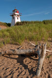 Covehead Lighthouse. In Stanhope, Prince Edward Island Stock Photos