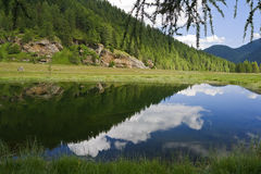 covel湖 库存照片