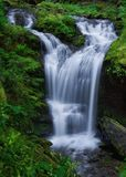 Covel-Nebenfluss, Washington State Stockbild
