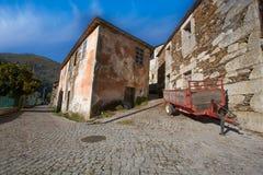 Covelo de Paivo χωριό σε Arouca, Πορτογαλία στοκ εικόνες με δικαίωμα ελεύθερης χρήσης