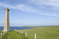 The Covenanters Memorial. View of the Covenanters Memorial, Deerness, Orkney, Scotland Stock Images