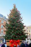 Covent Garden Christmas stock photography