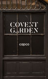 Covent Garden Doors Royalty Free Stock Photography