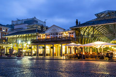 Covent Garden at Dusk Stock Photography