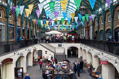 Covent Garden in London. (Editorial Stock Photography