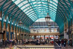 Covent Garden in the London royalty free stock image