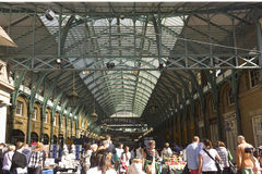 Covent Garden Market entrance in London Stock Photo