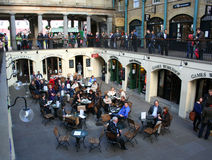 Covent Garden Market Hall, London, United Kingdom Royalty Free Stock Photography