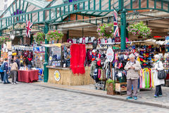 Covent Garden Market, main tourist attraction in London, UK Royalty Free Stock Photography
