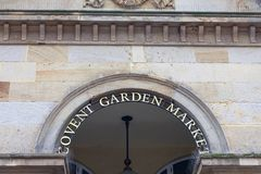 Covent Garden Market, popular shopping and tourist site,  London, United Kingdom.  Stock Image
