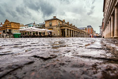 Covent Garden Market on Rainy Day, London Stock Images