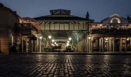 Covent Garden nocą obrazy stock