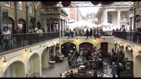 Covent Garden stock video footage