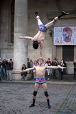 Covent garden perfomance Royalty Free Stock Photos