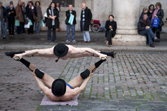 Covent garden perfomance Royalty Free Stock Photography