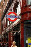 Covent Garden Underground - London Stock Image