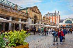 Covent-Garten-Markt in London, Großbritannien stockfotos