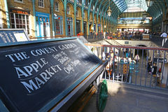 Covent ogródu Apple rynek, Londyn Obrazy Stock