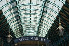 Covent trädgård - Apple marknad Royaltyfria Bilder