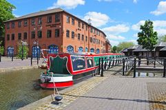Coventry Canal Basin. Stock Photo