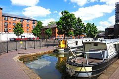 Coventry Canal Basin. Stock Photography