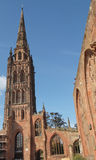 Coventry Cathedral ruins Stock Photo